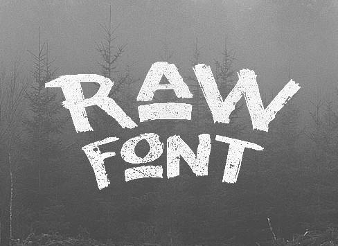 Raw Font
