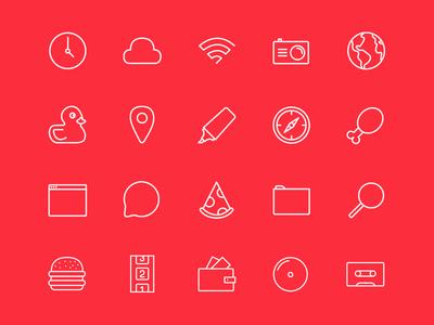 Stripes & Co - Free Icon Set