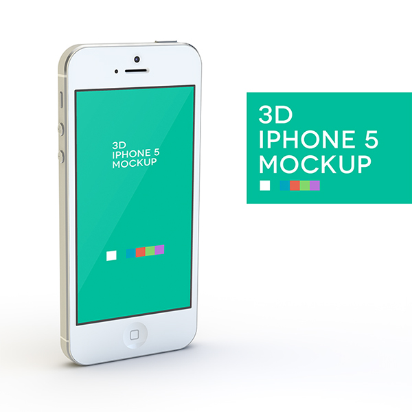 iPhone 5 Mockup Free Download