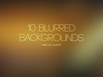 10 Blurred Backgrounds 2