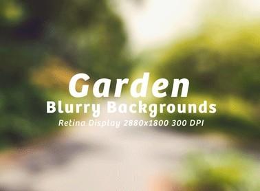 15 Garden Blurry Backgrounds