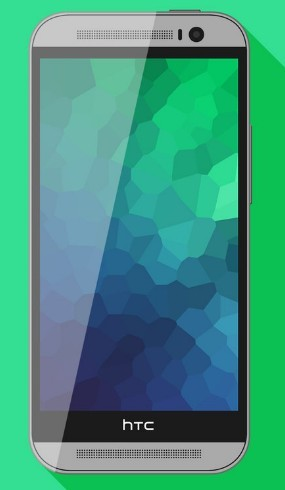 HTC One M8 Minimal PSD