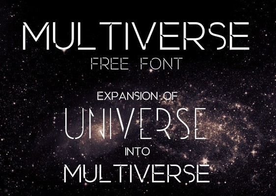 Multiverse - Free Font