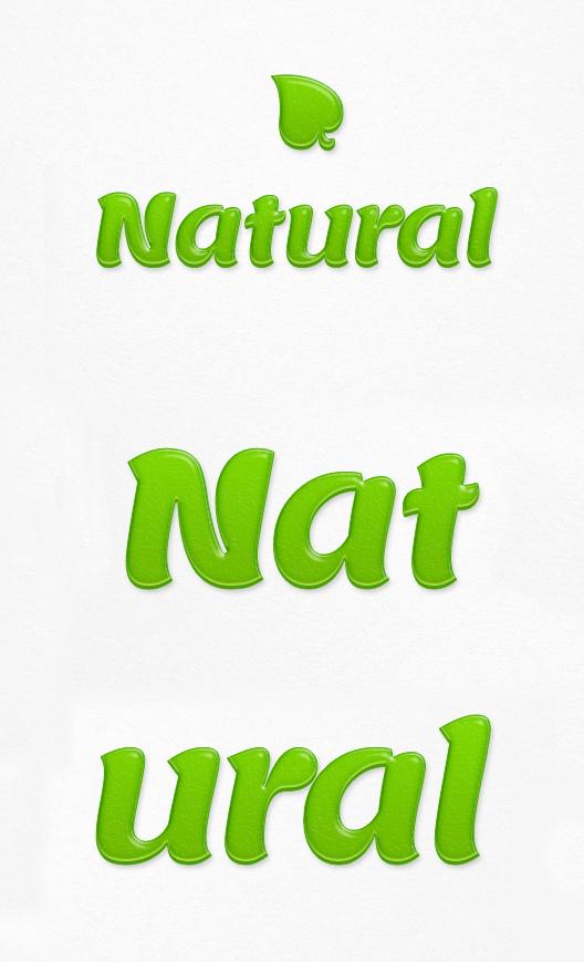 Natural Text Effect