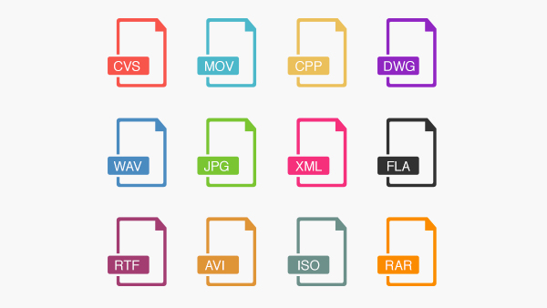 Outline File Icons