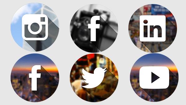 Social City Icons