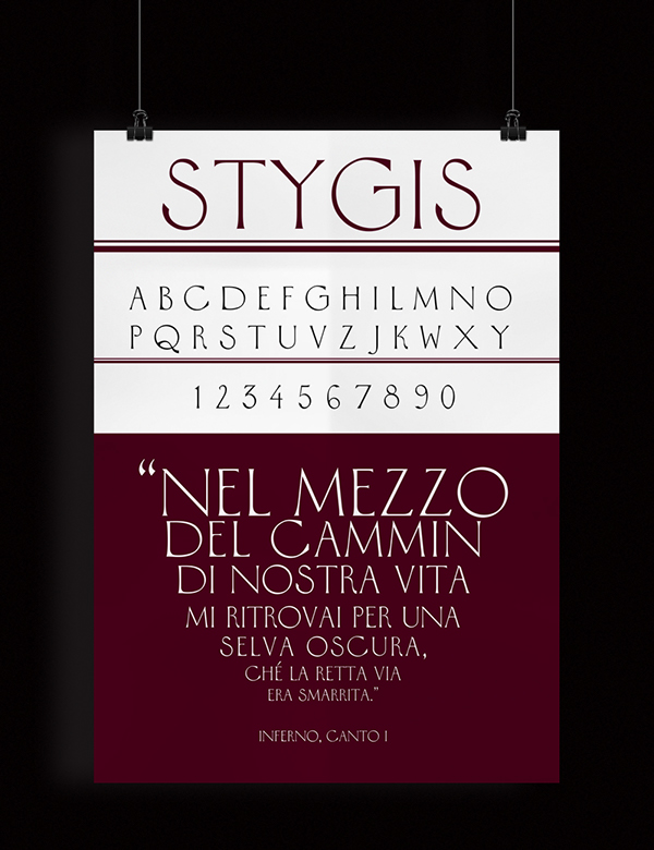 Stygis font - FREE TYPEFACE