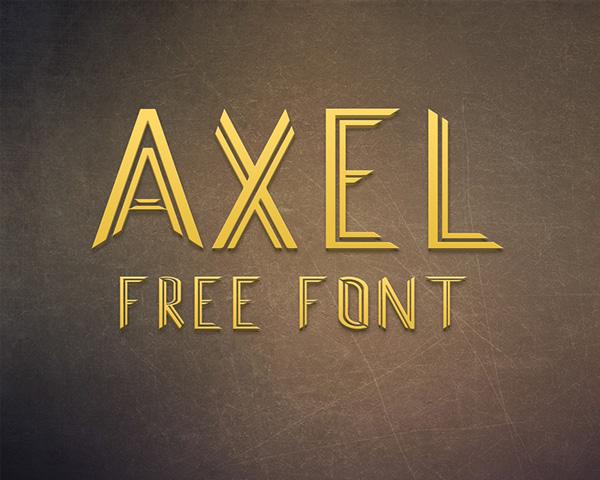 AXEL Free Font