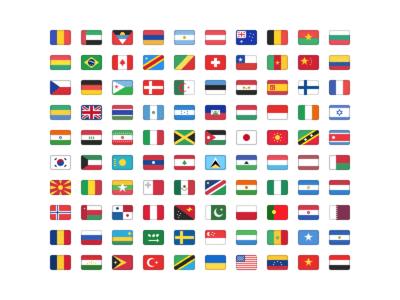 Flag Set for Sketch
