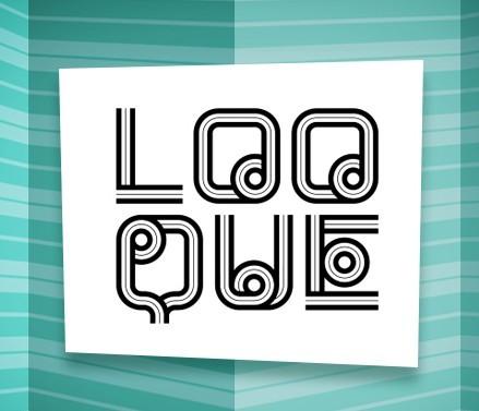 LOOQUE - Decorative Typeface
