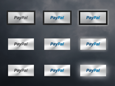 PayPal Metal Buttons