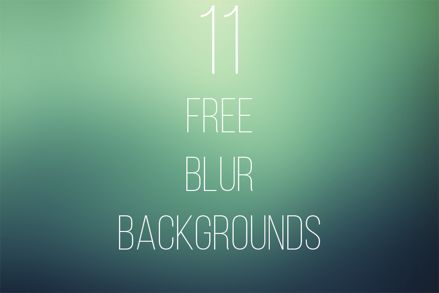11 FREE Blur Backgrounds