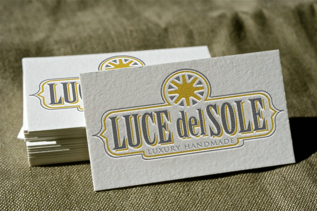 Business Card on Fine Fabric Mockup