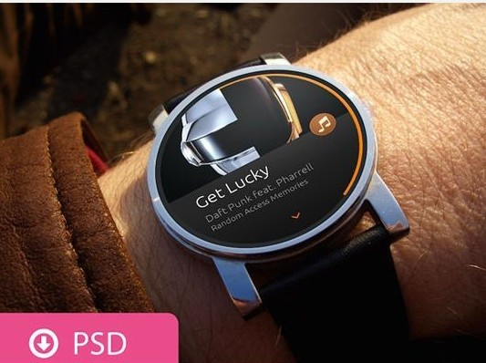 Smartwatch Mockups Psd Free Download iOS & Android