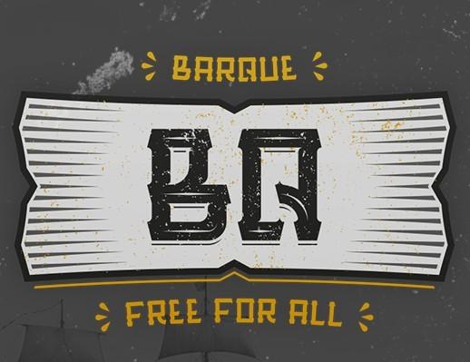Barque - Free Typeface