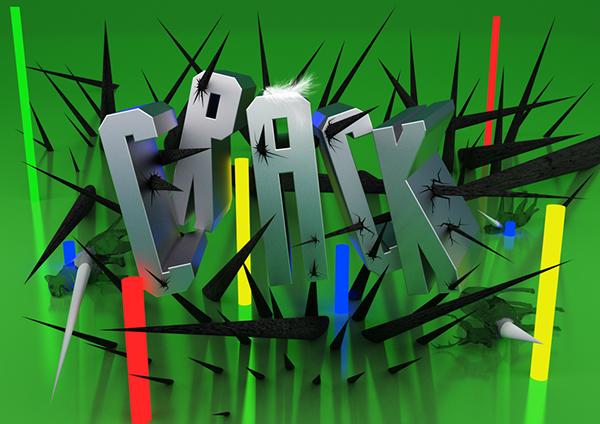 Crack Free Font