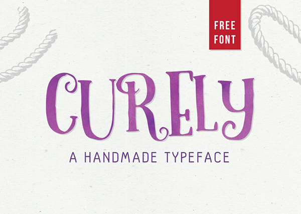 Curely - Free Typeface