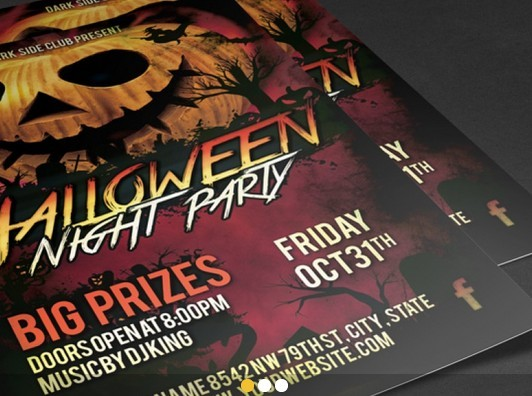 Halloween PSD Flyer