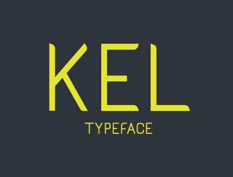 KEL Typeface