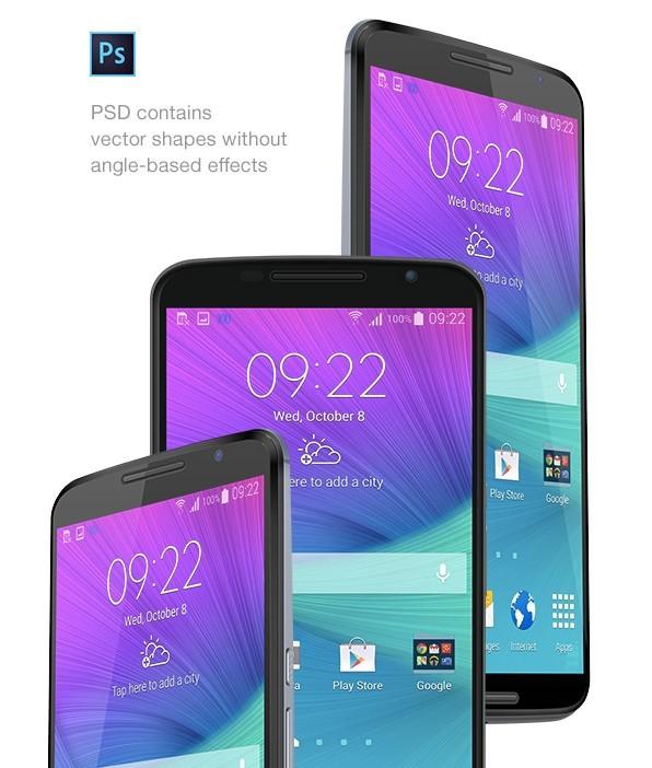 Nexus 6 PSD MockUp