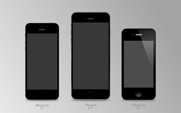 iPhones vector freebie