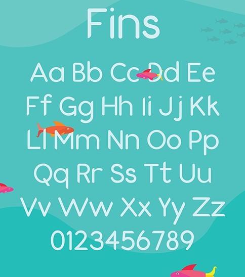 Fins Font