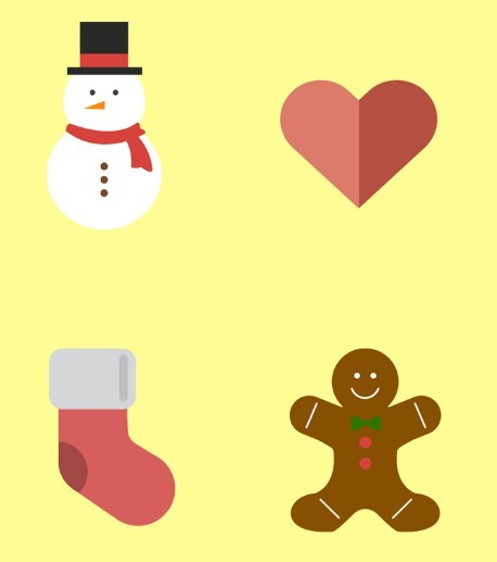 Holiday Christmas Icons Free Download