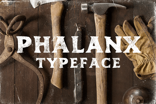Phalanx (FREE FONT) LIMITED TIME