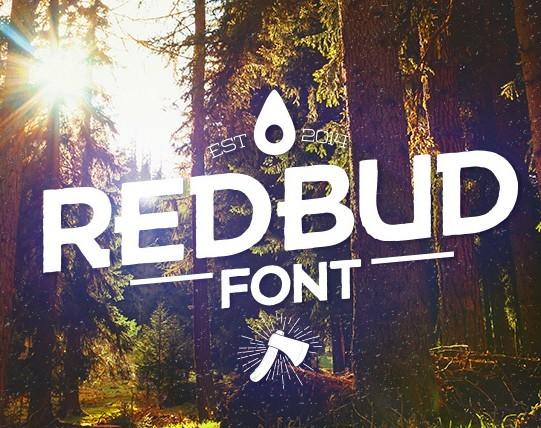 REDBUD Font