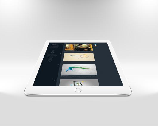 iPad Air 2 Mockup