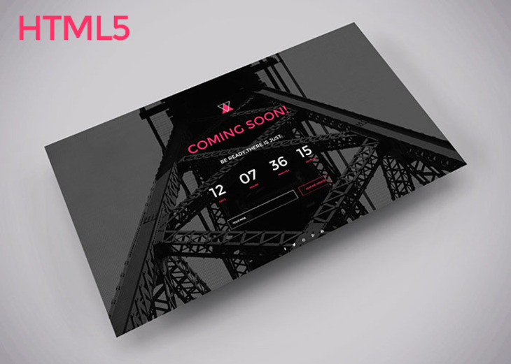 Comming soon HTML template