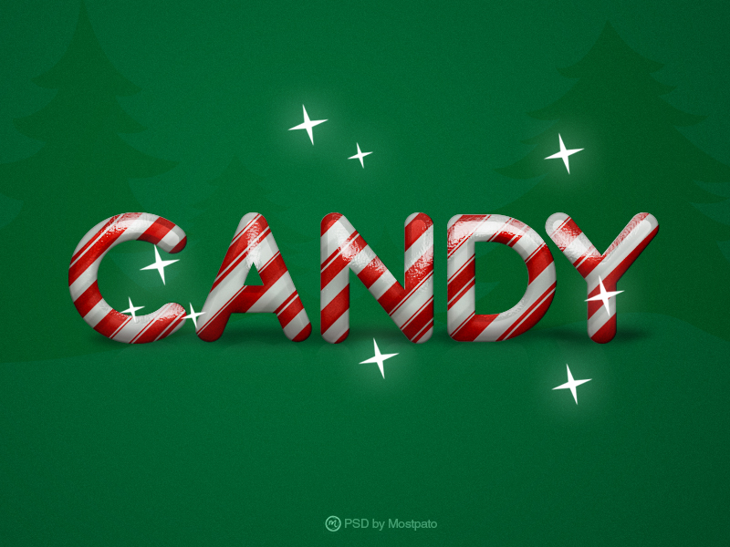 PSD Candy - Text Effect