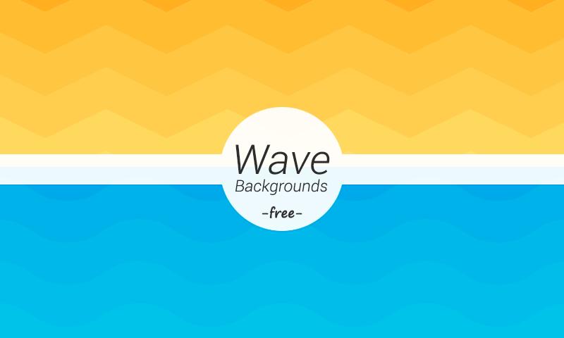 Wave Geometric Backgrounds