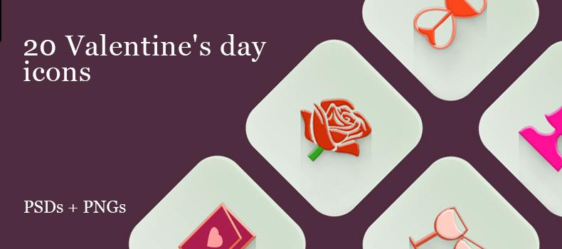 20 Valentine's day icons