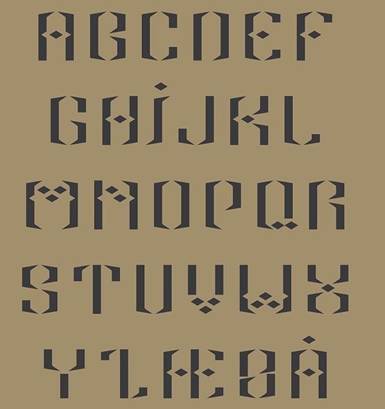Alif (Free) Display Typeface