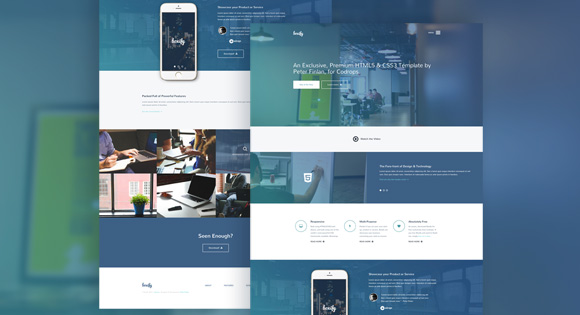 BOXIFY ONE PAGE WEBSITE TEMPLATE