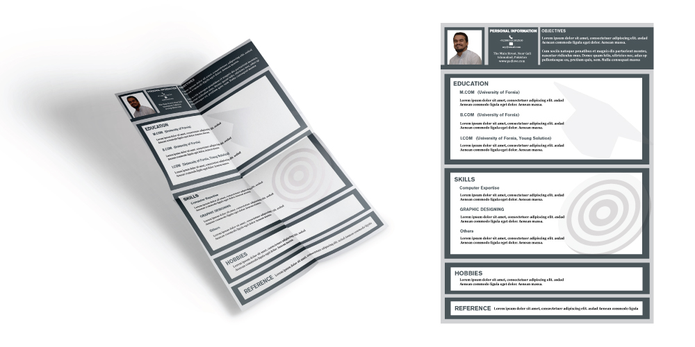 Free CV Template for Fresh Graduates