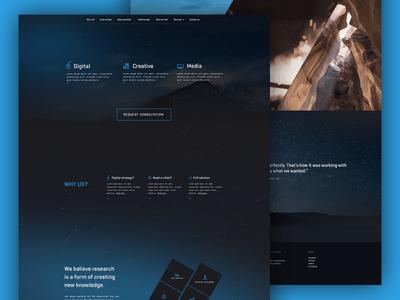 Landing page [Free PSD]
