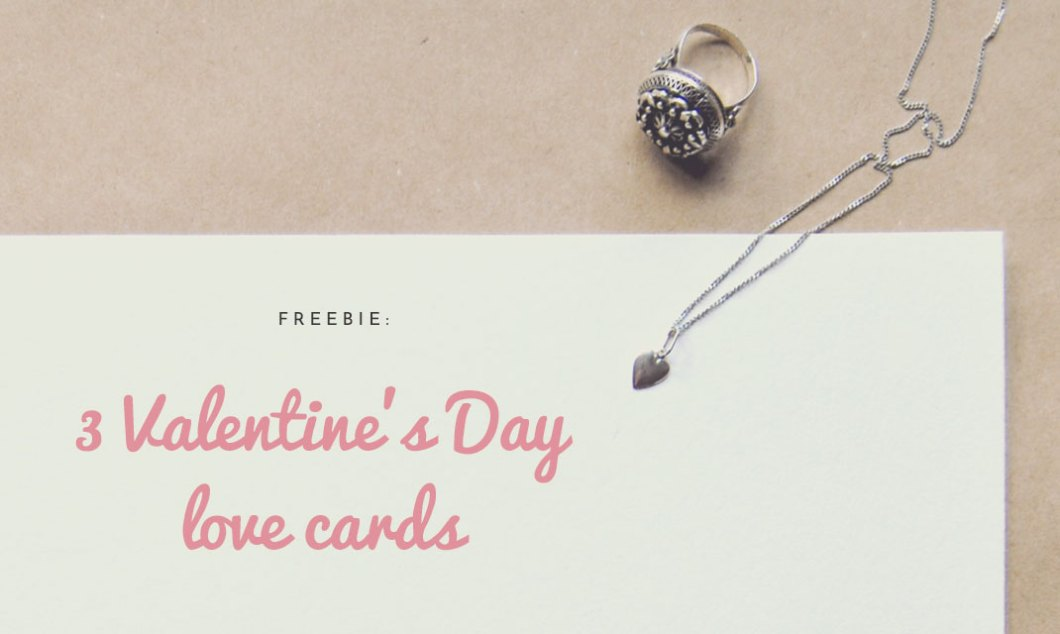 3 Valentine's Day Love Cards