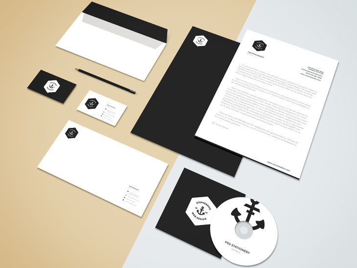 Branding-Stationery Mockup Vol.5