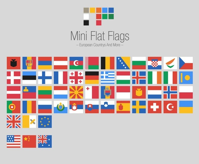 MiniFlatFlags