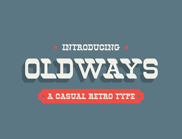 Oldways (Free Font)