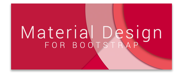Bootstrap material Design