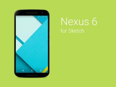 Nexus 6 Sketch Freebie