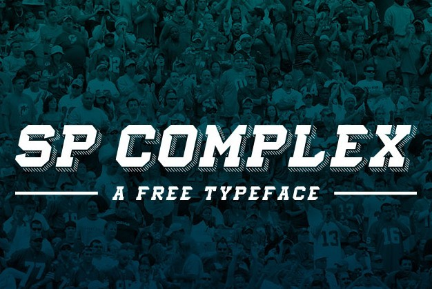 SP Complex Typeface