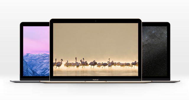 The New MacBook Psd Mockup