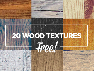 20 FREE HI-RES WOOD PHOTO TEXTURES