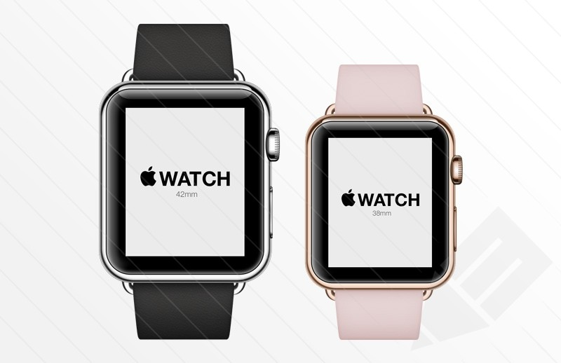 Apple Watch - Free Psd Mockup