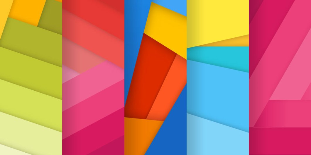 Free new set of material design backgrounds