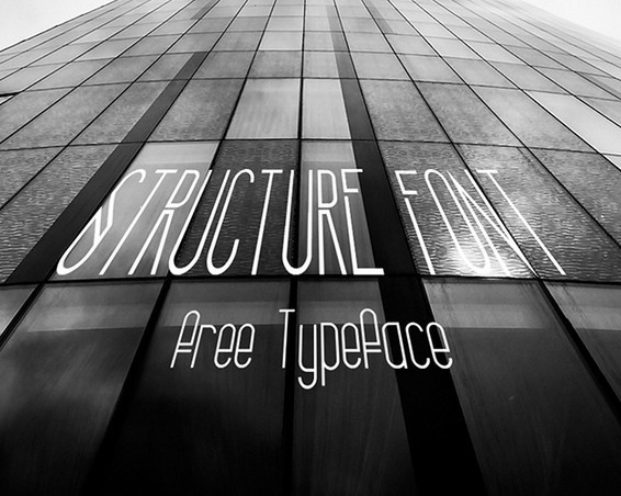 Structure (Free Font)